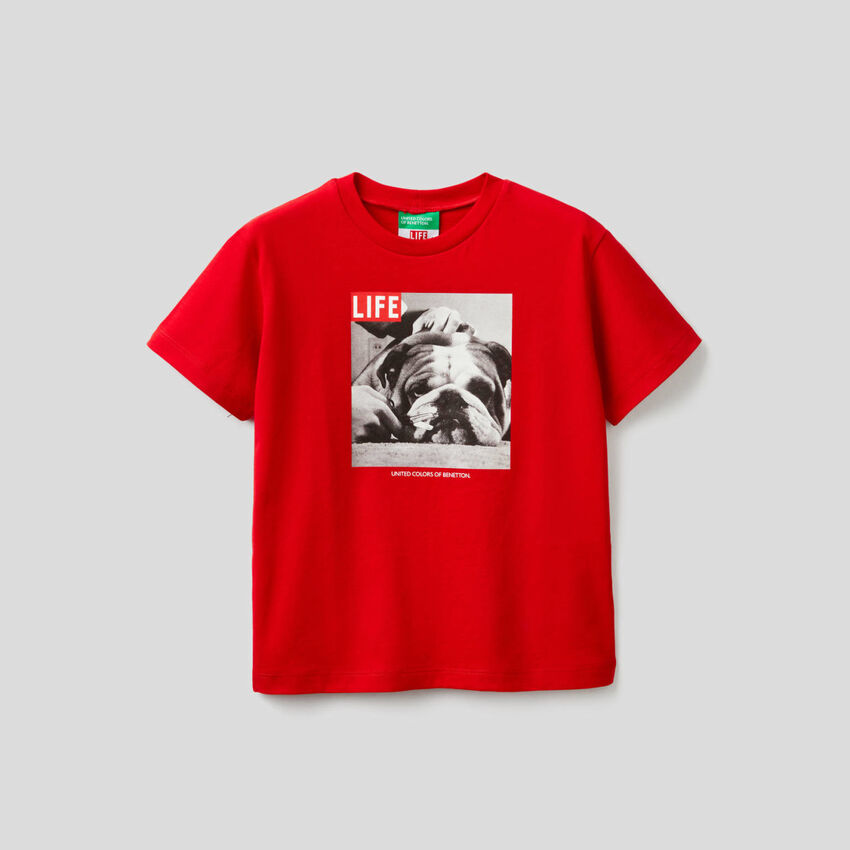 100% organic cotton Life t-shirt