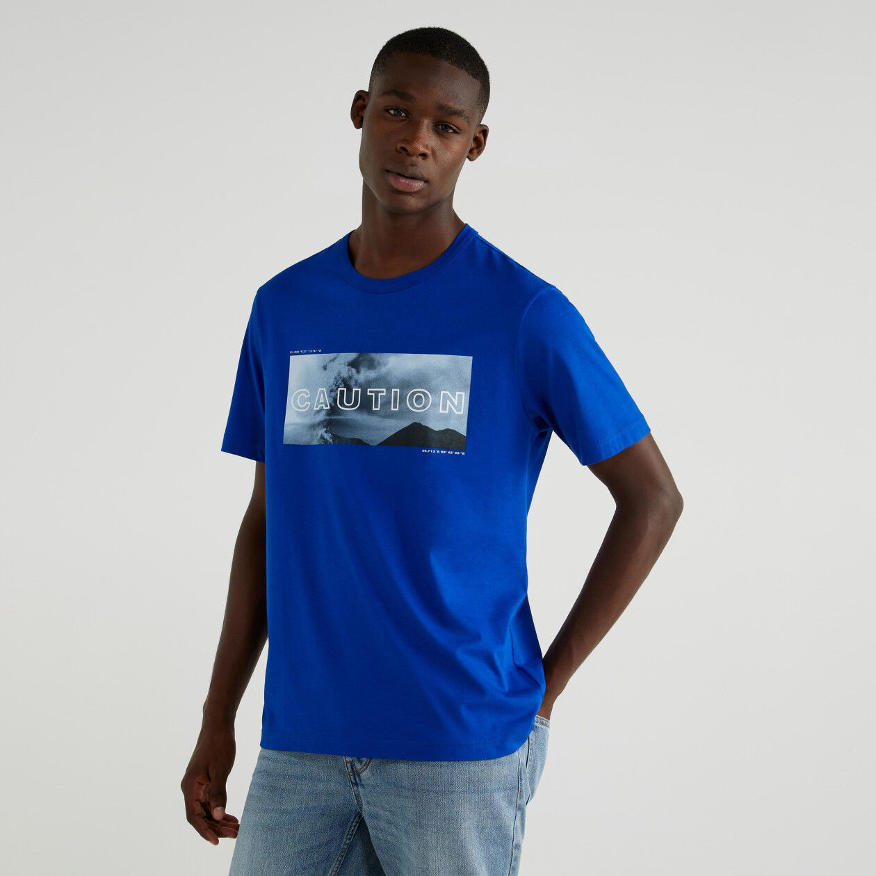 T-shirt with photographic print