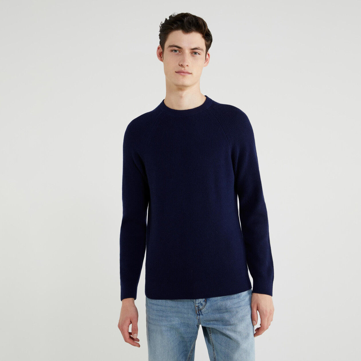 Sweater in wool and cashmere