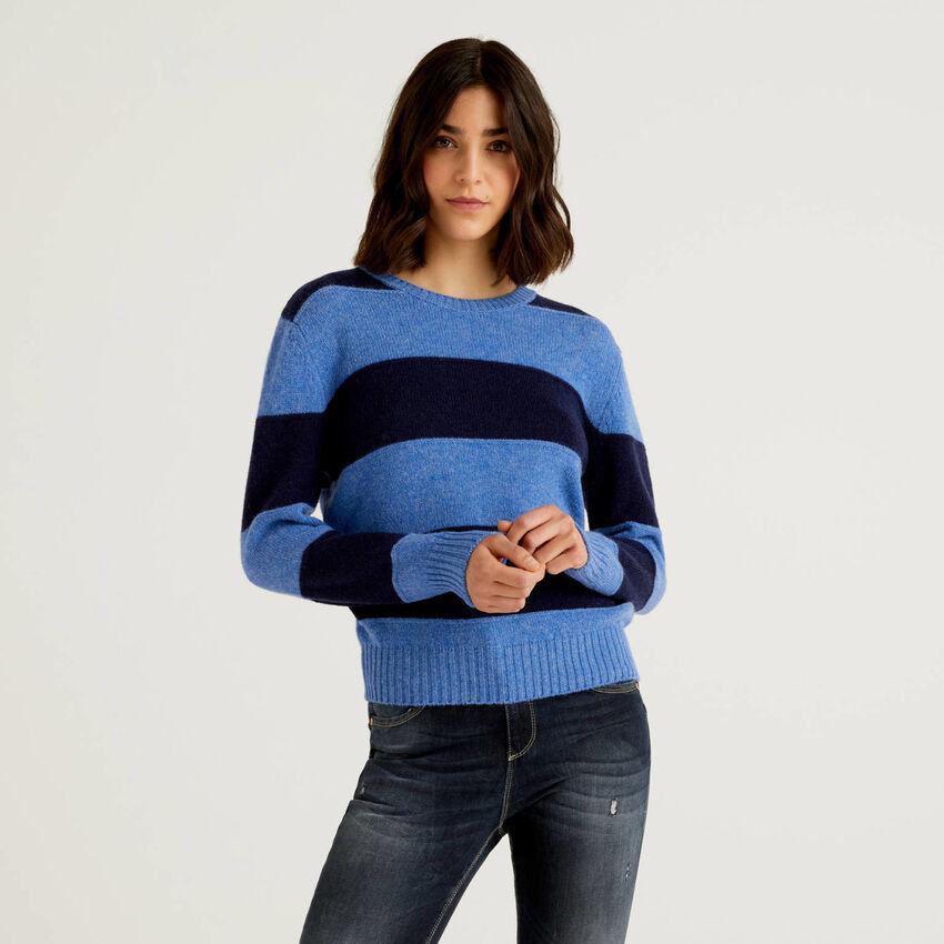 Jersey de pura lana Shetland