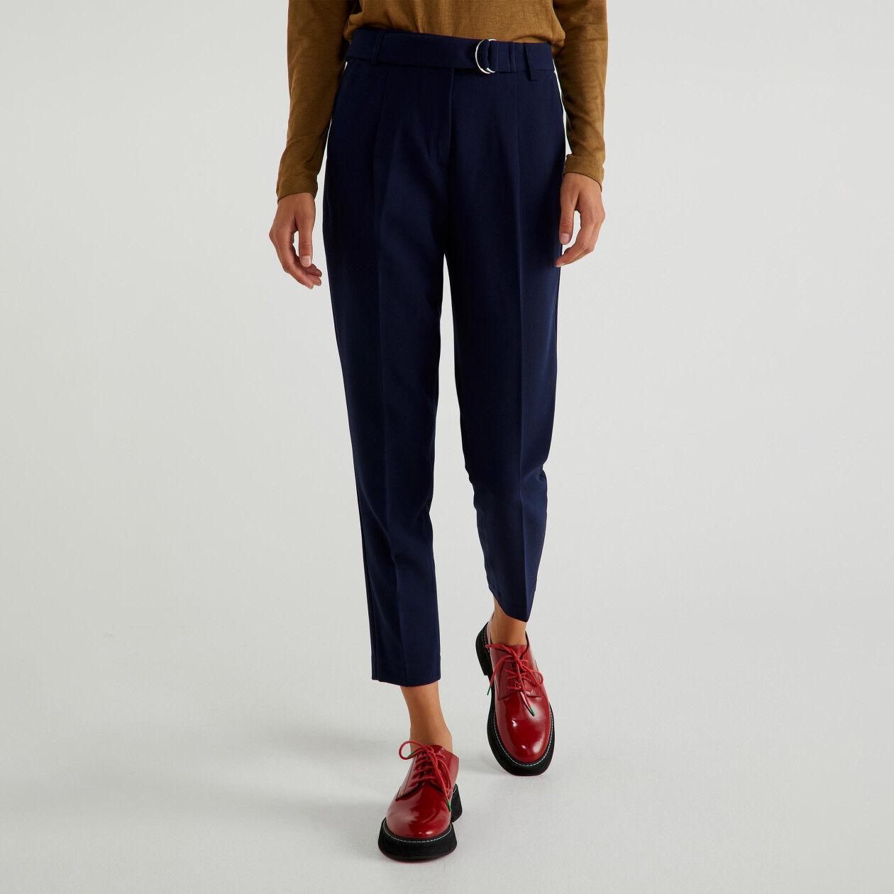 Pants with sash