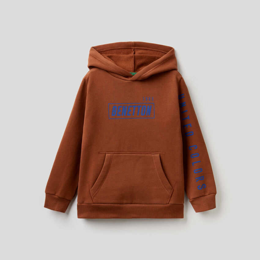 Hoodie with maxi pocket