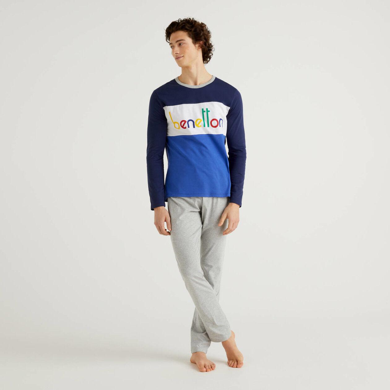 Multicolor logo pyjamas