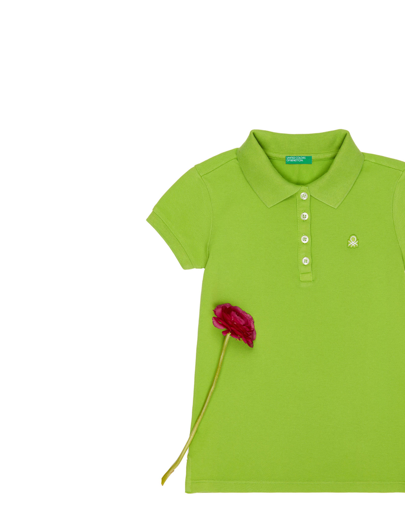 New Girls Polo Shirts Spring Summer Collections Benetton